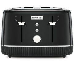 Kenwood TFP10AOBK, Elegancy 4-Slice Toaster, Black