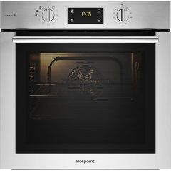 Hotpoint, FA4S544IXH, Single Oven, with Steam Cooking, Stainless Steel
