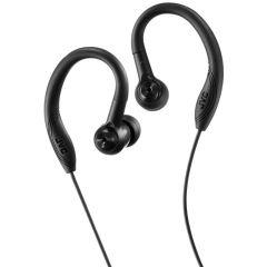 JVC HAEC10BE, In-Ear Sports Headphones, Black