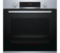 Bosch HBS534BS0B Single Oven - Black W/Steel