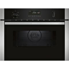 Neff C1AMG84N0B, Built-In Combination Microwave Oven, Stainless Steel