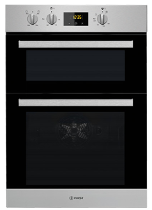 Indesit IDD6340IX, Built-in, Double Oven, Stainless Steel