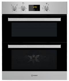 Indesit IDU6340IX, Built Under, Double Oven, Stainless Steel