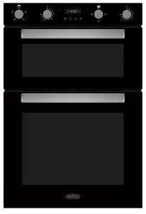 Belling BI903FPBLK, Electric Double Oven, Black