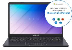 "Asus E410MABV003TS, 14"", 4/64GB, Laptop, Blue"