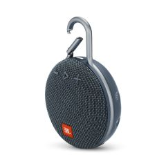 JBL JBLCLIP3BLU, CLIP3 Portable Bluetooth Speaker, Blue