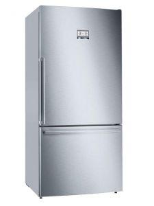 Bosch KGB86AIFP, 186 x 86cm, NoFrost Fridge Freezer, Stainless Steel