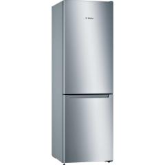 Bosch KGN33NLEAG, 176 x 60cm, Frost Free, Fridge Freezer, Stainless Steel
