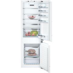 Bosch KIN86AFF0G, 60cm, 60/40, Frost Free Fridge Freezer, White