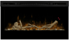 """Dimplex LF34DWS, Driftwood/River Rock, Fuel Bed Accessory for 34"""" LED Fireplace"""