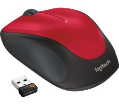 Logitech M235, Wireless Optical Mouse, Red