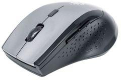 Manhattan 179379, Curve Wireless Mouse, Black/Grey