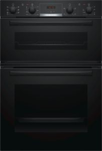 Bosch MBS533BB0B Built-In Double Oven - Black