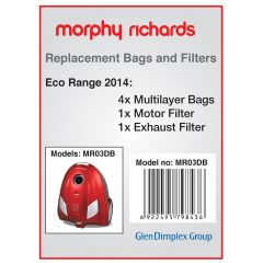 Morphy Richards MR03BB, Vacuum Bags For 70090