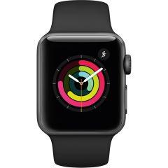 Apple MTEY2BA, 38mm, GPS, Watch Series 3, Space Grey/Black