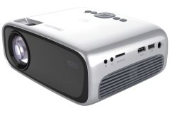 Philips NeoPix Easy 2+ 224NPX442, HD Home Projector, Silver