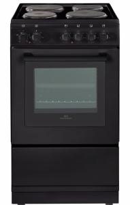 Newworld NW50ESBLK, 50cm, Freestanding Electric Cooker, Black