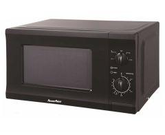 Powerpoint P22720CPMBL, 700 Watt. Microwave, Black