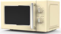 Powerpoint P22720MRCR, Retro Microwave, Cream