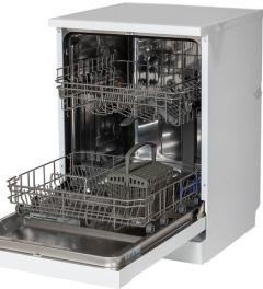Powerpoint P24510M6WH, 10 Place, 45cm, Slimline Dishwasher, White
