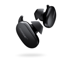 Bose 8312620010, Quiet Comfort Earbuds, Wireless Earbuds, Black