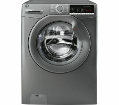 Hoover H3W48TGGE180, H-Wash, 8KG, 1400rpm, Washing Machine, Graphite
