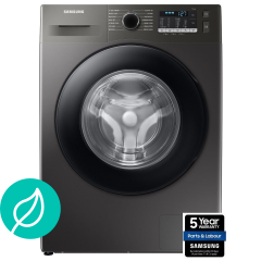Samsung WW90TA046AN, 9KG, 1400RPM, Ecobubble, Washing Machine, Inox