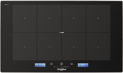 Whirlpool, SMP778CNEIXL, W Collection, Induction Hob, Black