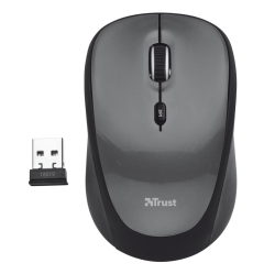 Trust 18519 Wireless Optical Mouse - Black