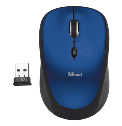 Trust 19663 Wireless Optical Mouse - Blue