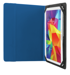 """Trust T20315, Primo Folio Case with stand for 10"""", Blue"""