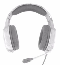 Trust T20864, GXT 322W, Carus Gaming Headset, Snow Camouflage