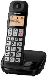 Panasonic KXTGE110EB, Big Button Cordless Phone