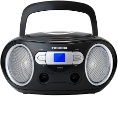 Toshiba TYCRS9B, CD Radio, Black