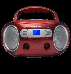 Toshiba TYCRS9R, CD Radio, Red
