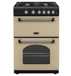Rangemaster CLA60NGFCR/C, 60cm, Classic Gas Cooker, Cream