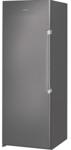Hotpoint UH6F1CGUK1, H167 X W59.5CM,  Frost Free, Larder Freezer, Graphite