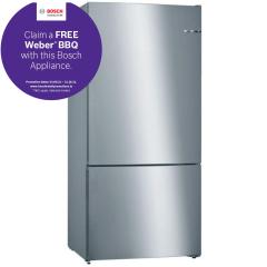 Bosch KGN864IFA, 168 x 86cm, NoFrost Fridge Freezer, Stainless Steel