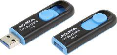 Adata AUV128128GRBE, USB 3.1 128GB Flash Drive, Black/Blue
