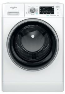 Whirlpool FFD8448BSVUK, 8KG, 1400rpm, FreshCare Washing Machine, White