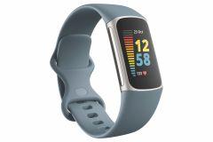 Fitbit Charge 5 79FB421SRBU, Fitness Tracker, Blue/Platinum
