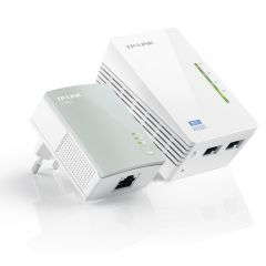 TP Link WPA4220KIT, 300Mbps, AV600, WiFi, Powerline Extender, Starter Kit