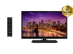 "WALKER WPS2421DVD 24"" HD READY TV, SATELLITE TUNER & DVD PLAYER"