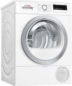 Bosch WTR85V21GB, 8KG  A+ Condenser Dryer with Heat Pump, White