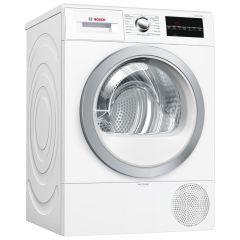 Bosch WTR88T81GB, 8KG, Heat Pump Tumble Dryer, White
