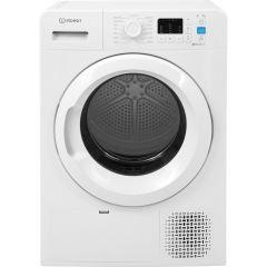 Indesit YTM1071R, 7KG, Heat Pump Tumble Dryer, White