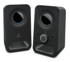 Logitech Z150, Multimedia 2.0 PC Speakers, Black