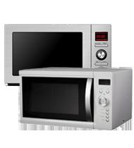 Free Standing Microwaves