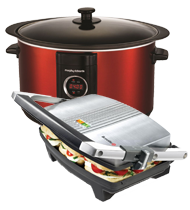 Health Grills, Sandwich Toasters & Steamers