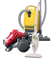 Vacuum Cleaners & Steam Cleaners